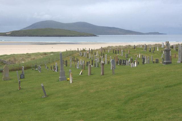 Graveyard at Losgaintir