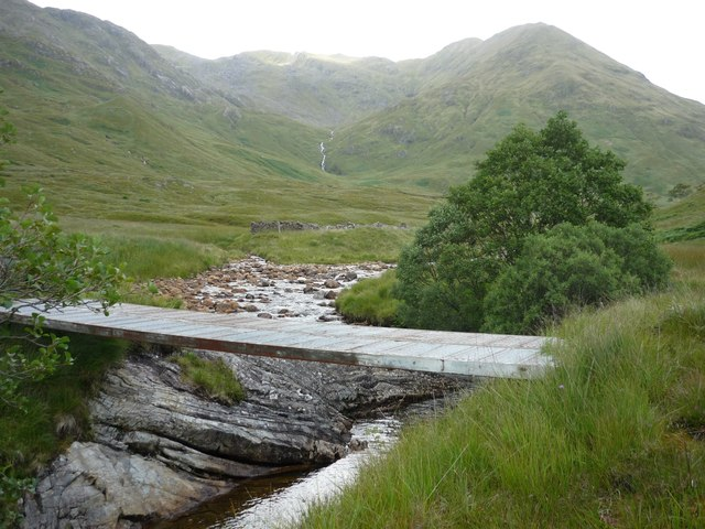 Bridge over the Dubh Lighe