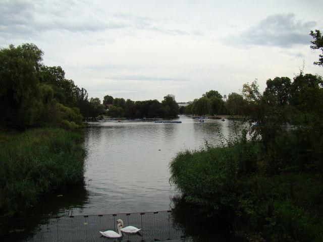 Regent's Park boating lake #5