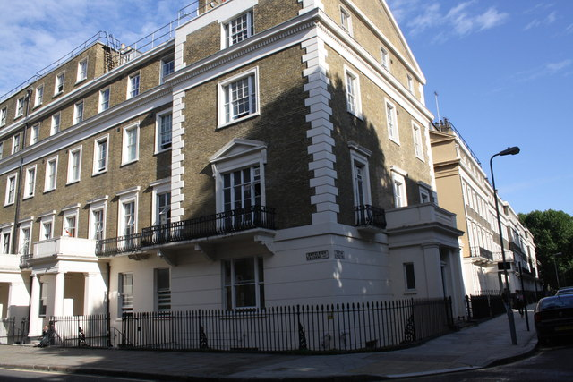 #12-14 Endsleigh Gardens at junction with Taviton Street