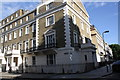 TQ2982 : #12-14 Endsleigh Gardens at junction with Taviton Street by Roger Templeman