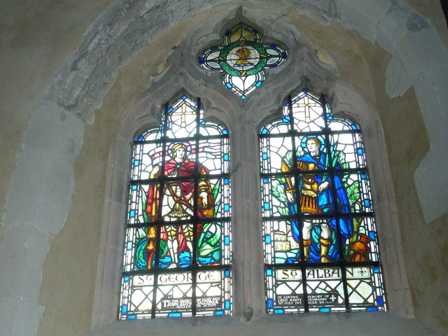 All Saints, Long Sutton: stained glass window (c)