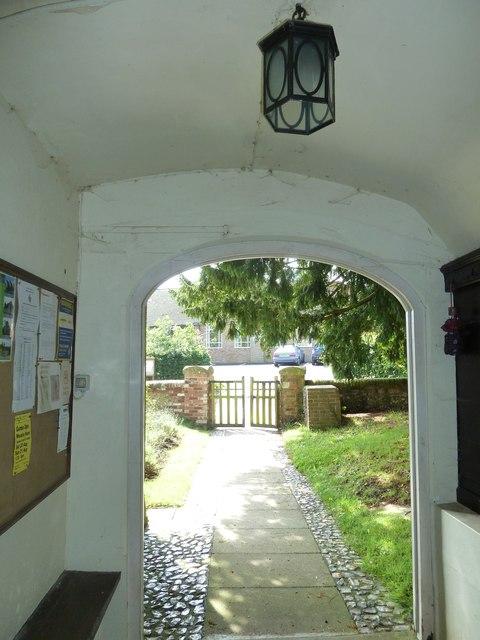 All Saints, Long Sutton: south door