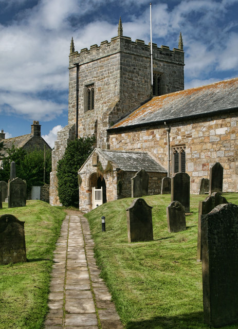 Church of St. Bartholomew, Kirkwhelpington