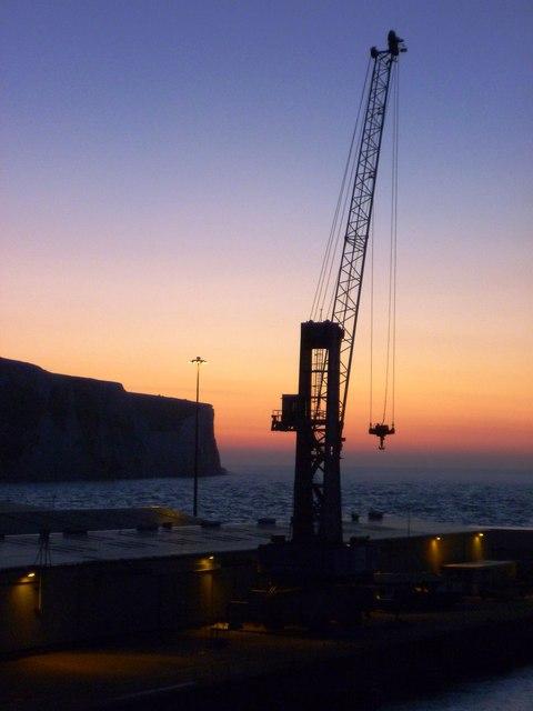 Crane at Eastern Docks