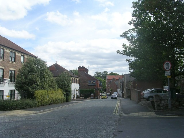 Clementhorpe - viewed from Cherry Street