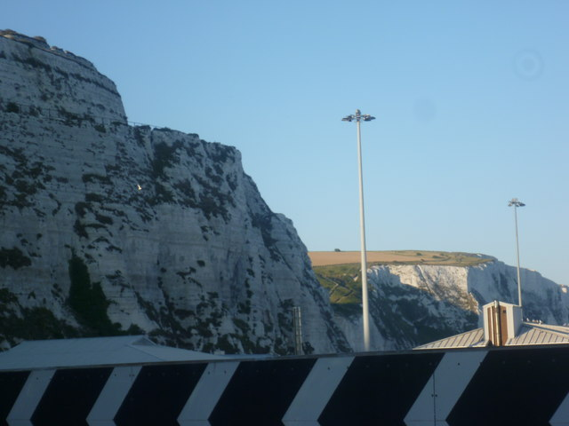 Cliffs above Eastern Docks