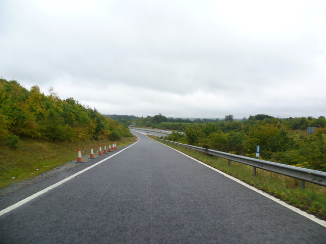 Slip Road - Junction 8 on M20