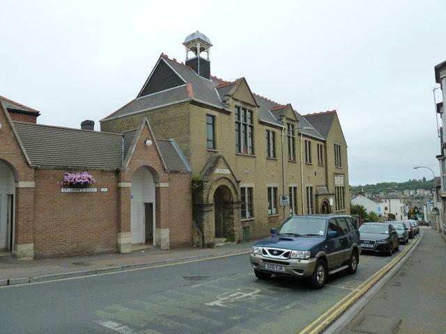 The old school in St John's Road