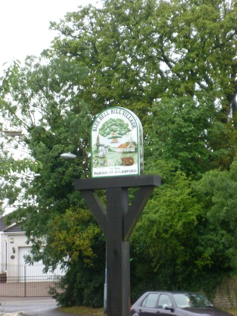 Blue Bell Hill Village Signpost
