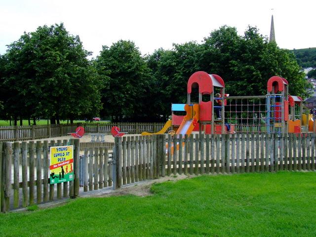 Play park at Coronation Park