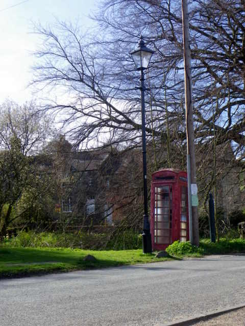 Telephone box, Ramsgill