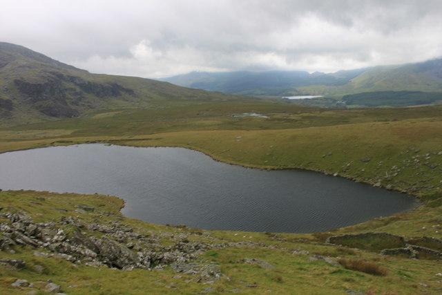 Llyn Ffynnon-y-gwas reservoir