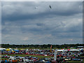 TL8964 : View of airshow from control tower by John Goldsmith