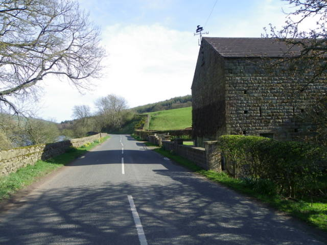 Minor road near Gouthwaite Hall