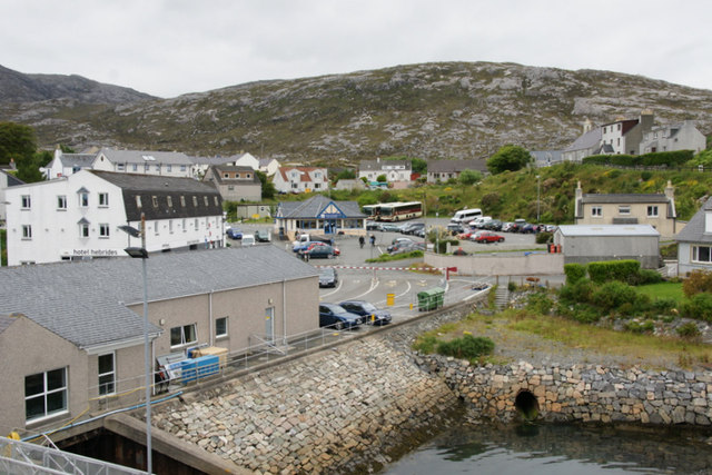 Pier Road, Tarbert, from the ferry