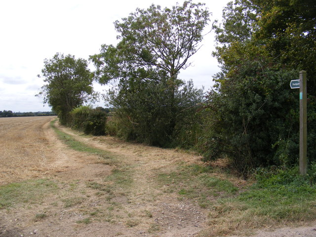 Footpath to Barell's Hill