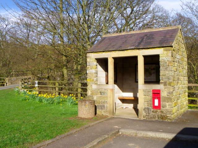 Bus shelter, Wath