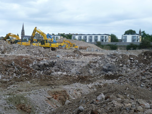 Fountainbridge demolitions