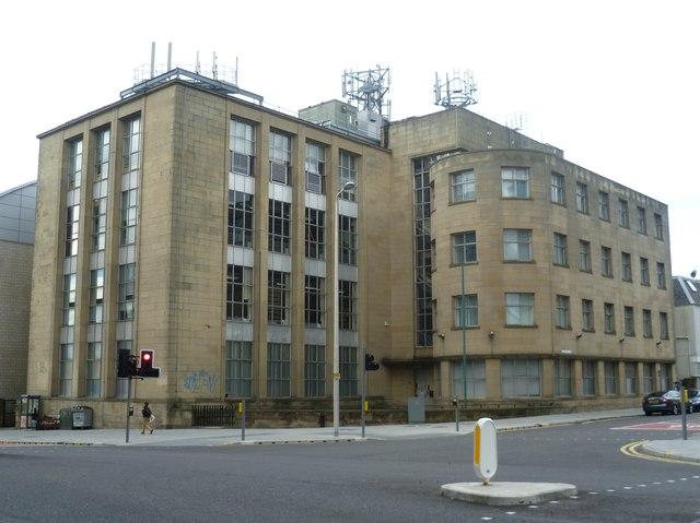 British Telecom building, Fountainbridge