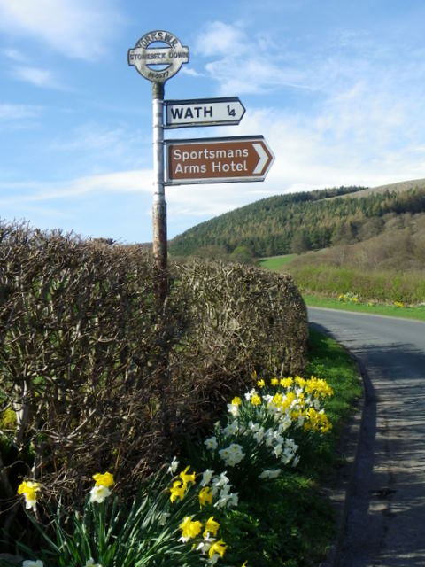Sign for Wath