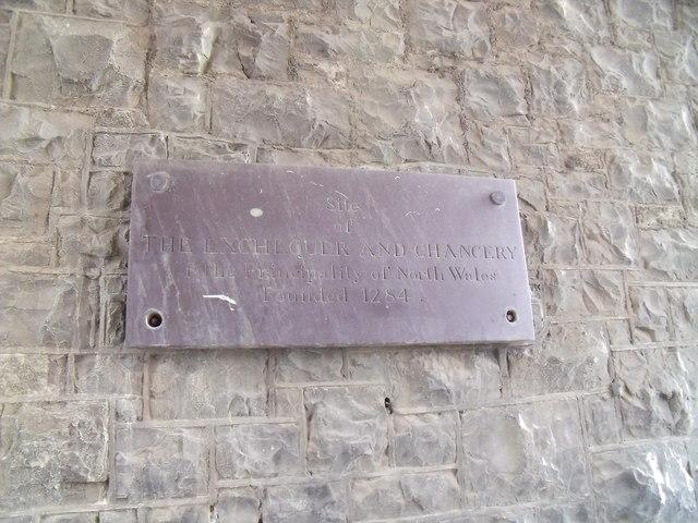 Site of Exchequer & Chancery, Caernarfon