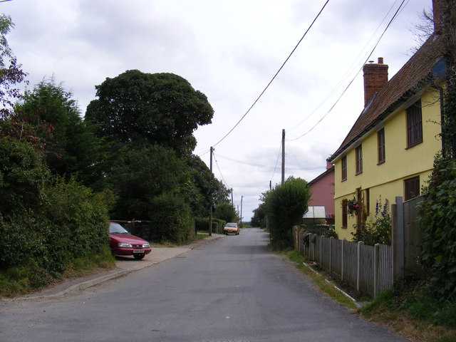 Mary's Lane, Cratfield