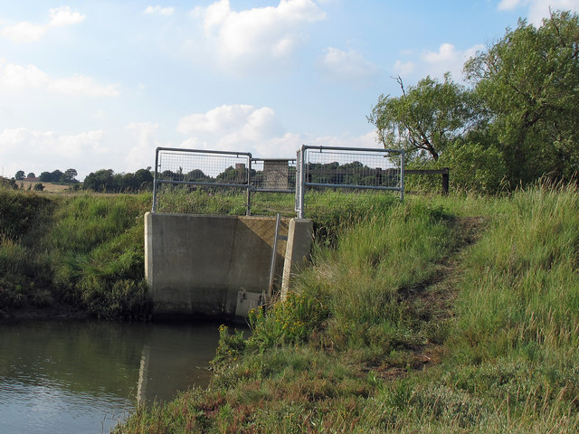 Erwarton One Sluice