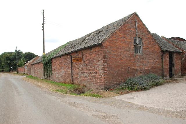 Roadside Buildings of Lower Cowley Farm