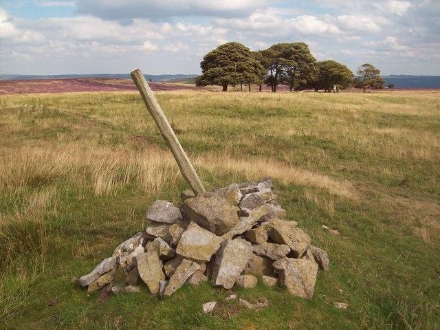 Cairn on Longstone Moor