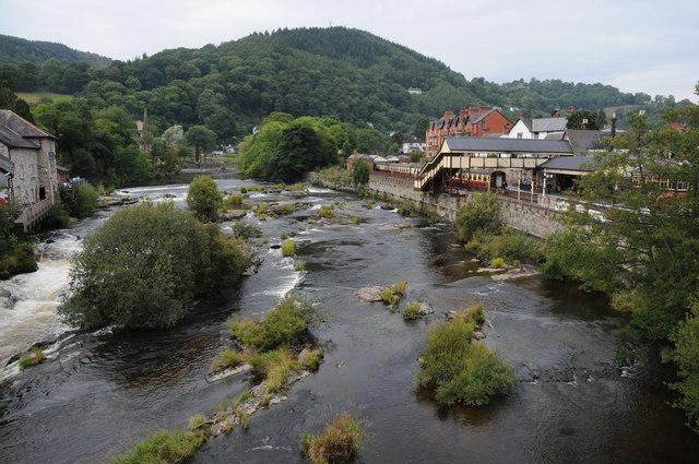River Dee at Llangollen