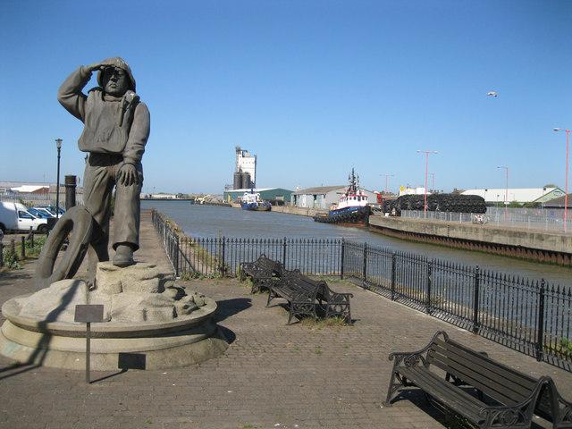 Lifeboatmen memorial at Lowestoft