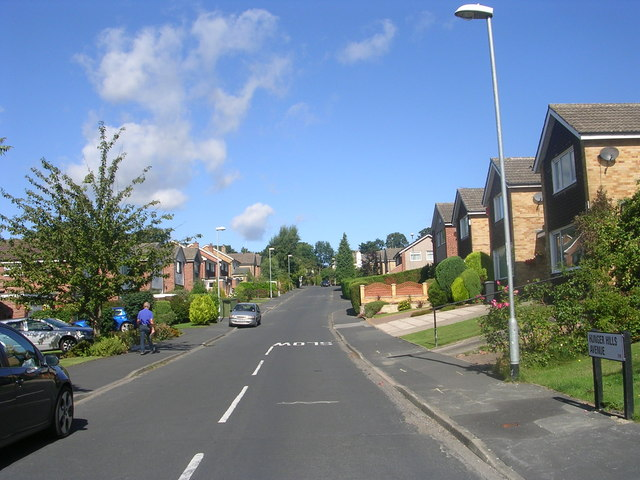 Hunger Hills Avenue - viewed from West End Drive