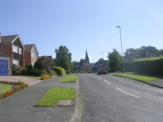 West End Drive - viewed from Hunger Hills Avenue