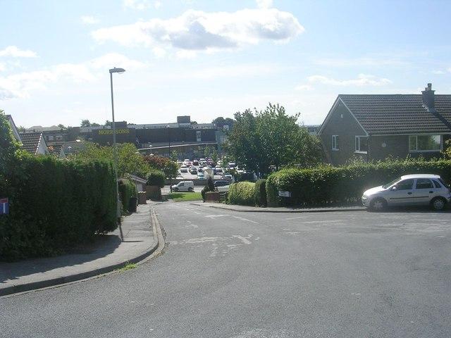 Church Crescent - off Church Lane