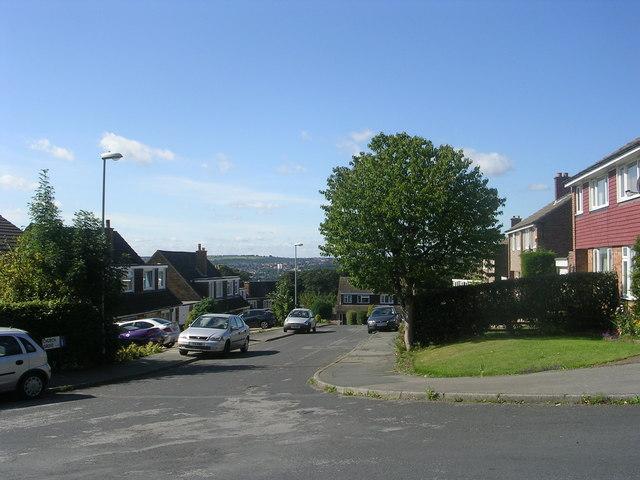 Church Grove - viewed from Church Lane