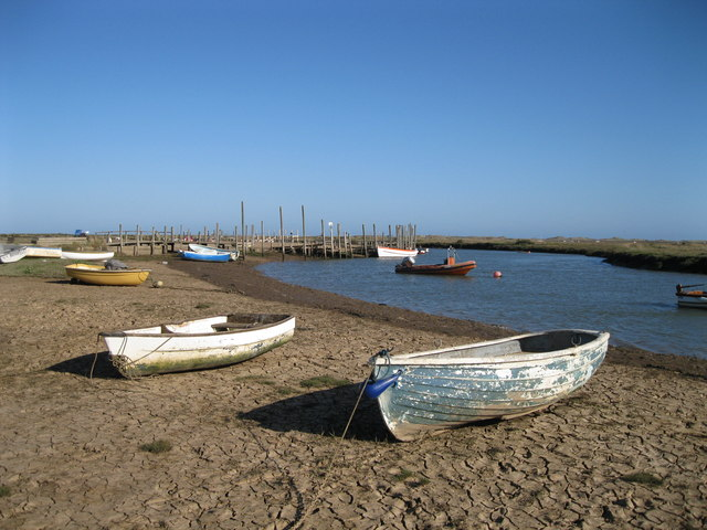Boats at Morston Creek