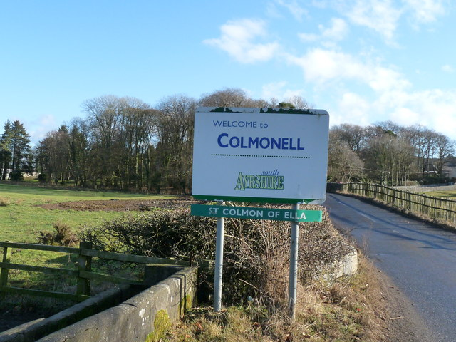 Colmonell Village Sign