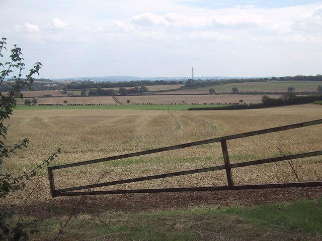 Fields near Tackley