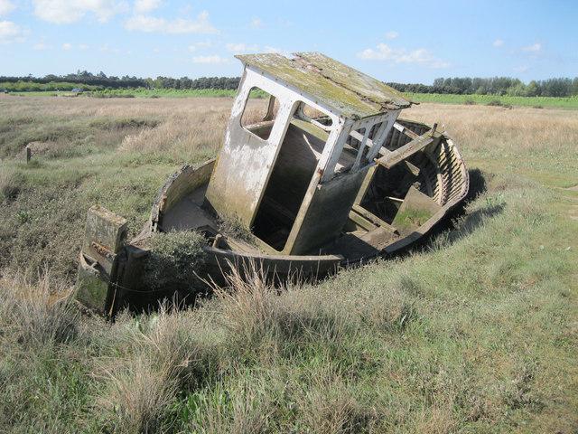 Wreck at Thornham