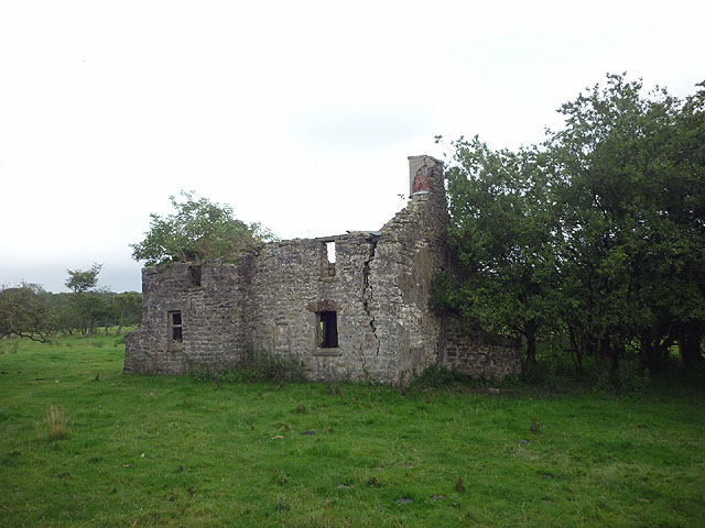 Ruined cottage in 2011
