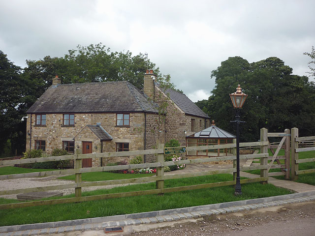New cottages at Taylor's farm