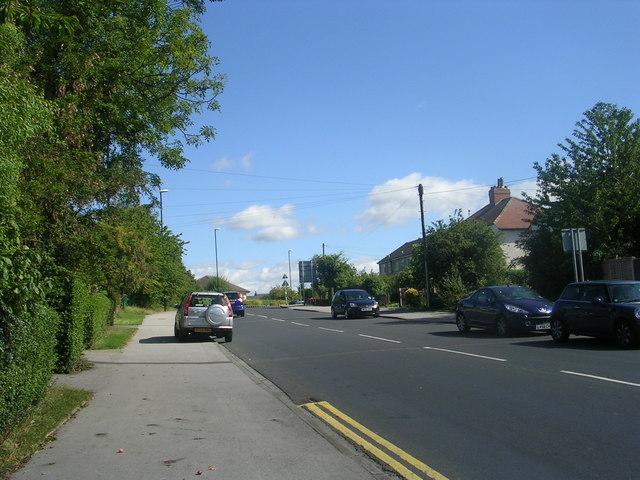 Church Avenue - viewed from Church Lane