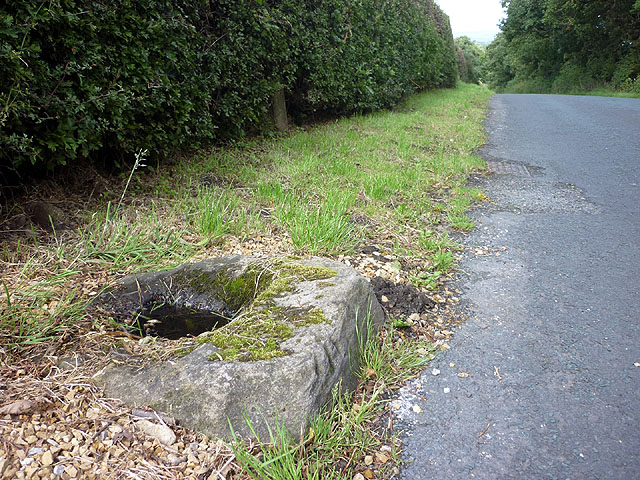 Benchmark on the cross base, Cross Hill