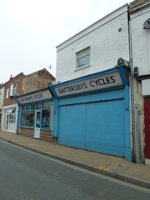 Battersbys Cycles, High Street