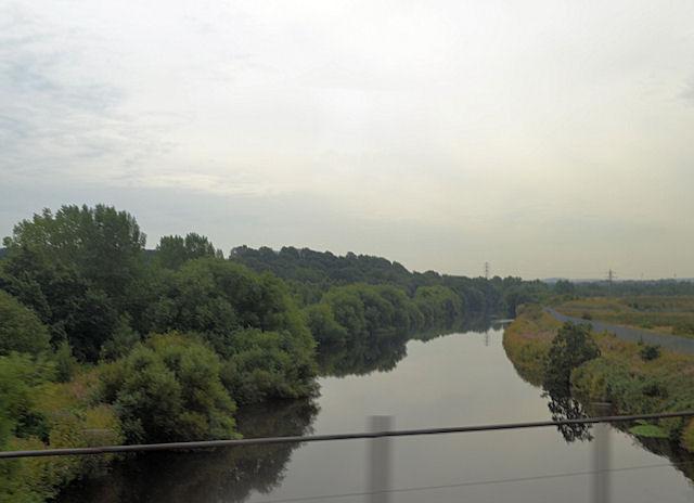 Crossing the River Calder