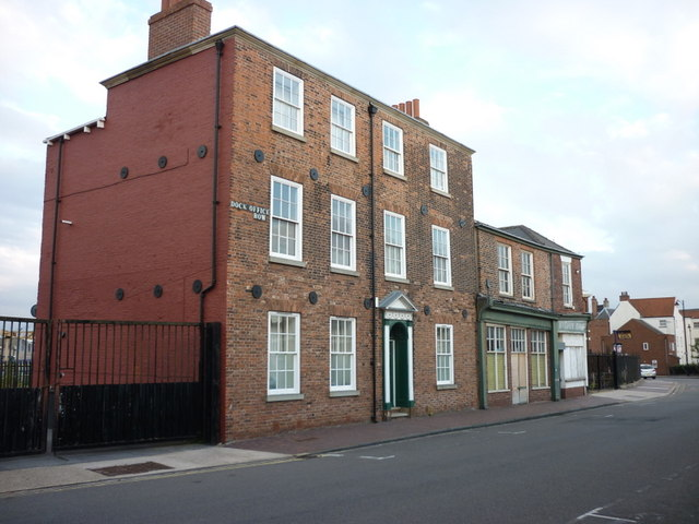Dock Office Row, High Street, Kingston upon Hull