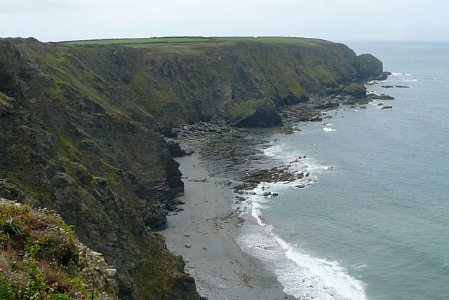 Along Halzephron Cliff