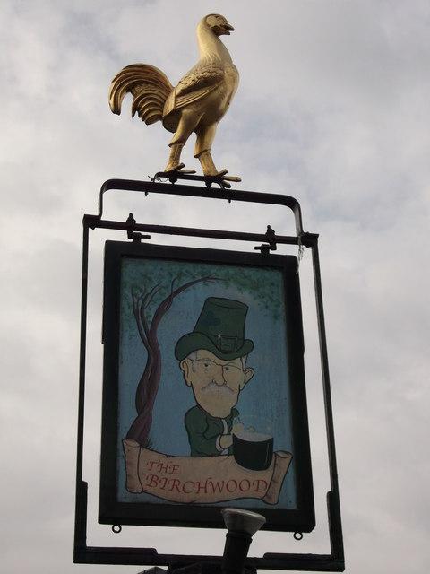 The Birchwood Pub Sign, Abbey Wood