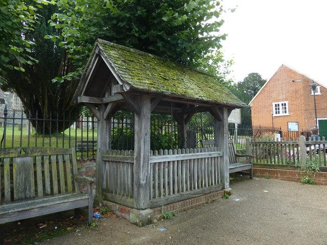 Seats outside the parish church